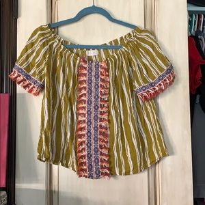 Festival Off the shoulder Blouse